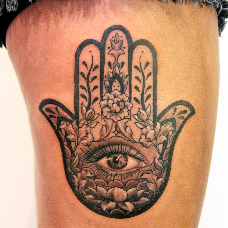 0dcee55c9 Portfolio | Art in Motion Tattoo Studio | Hamsa | Hand tattoos ...