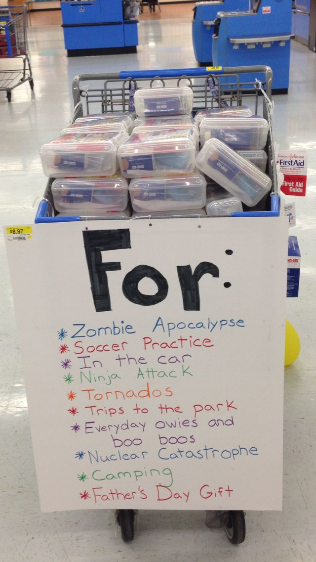 Uses for a Walmart first aid kit lol   Lol   Aid kit, First