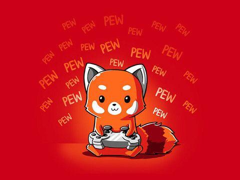 Omg daddy its a red panda nerd couple - Dessin panda roux ...