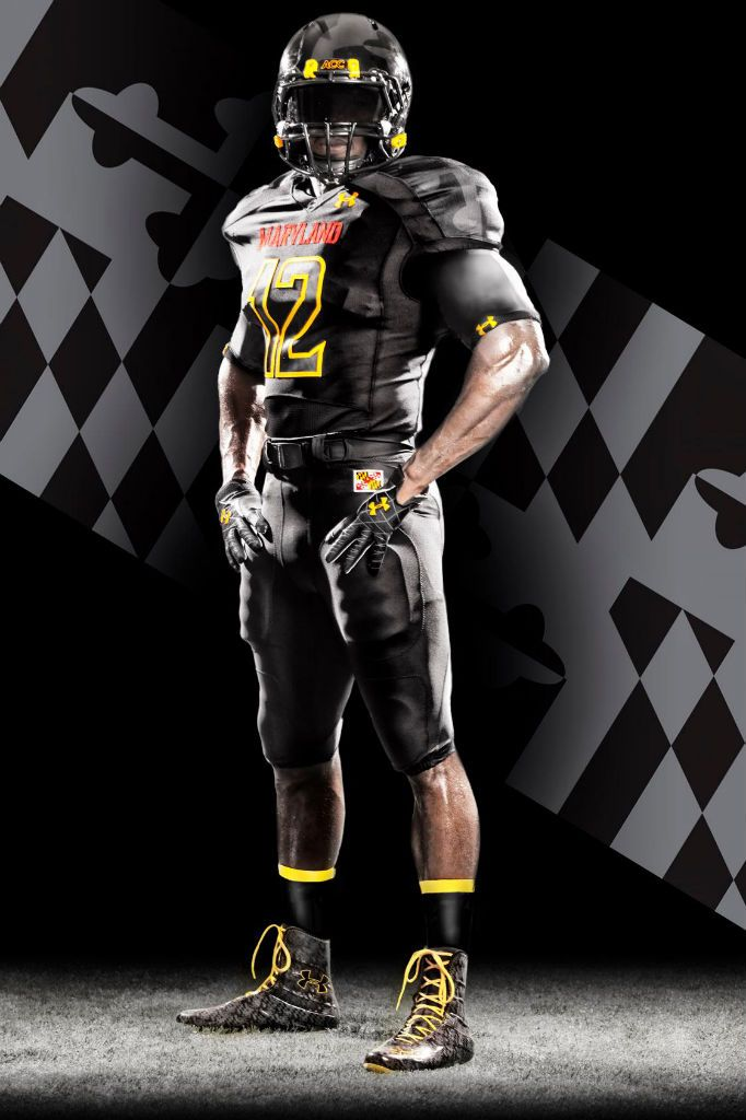 Maryland s Under Armour Black Ops Football Uniforms  d3a4cbc30