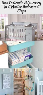 How To Create A Nursery In A Master Bedroom (6 Steps) - health and diet fitness ...#bedroom #create...