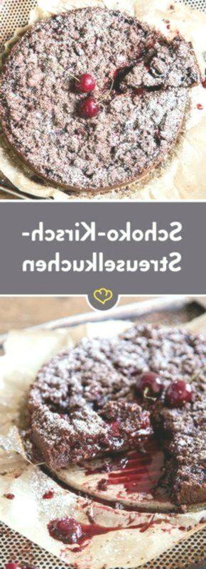 Wo fühlen sich Ihre Kirschen am wohlsten? Unter einer knusprigen Streuseldecke ...   - Essen! -
