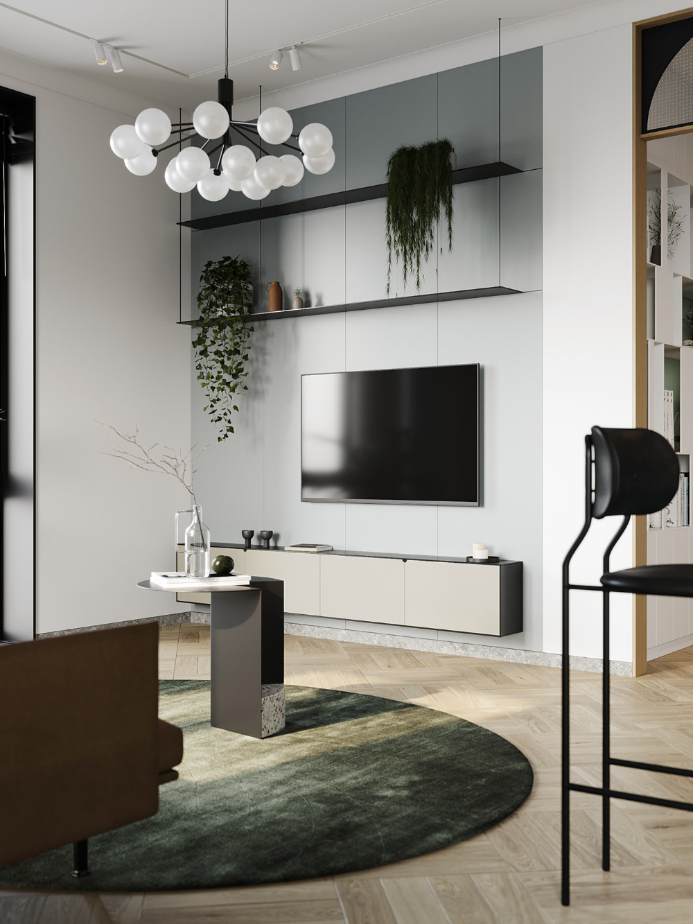 Autodesk Room Design: Small Apartment Layout, Home