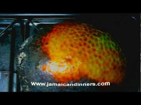 Organic Style - Roasted Breadfruit - YouTube