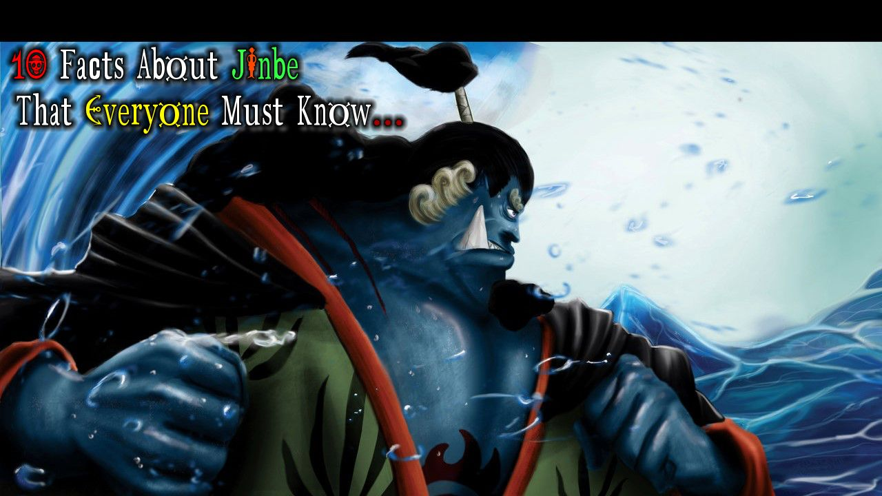 10 Facts About Jinbei That Everyone Must Know One Piece Anime Anime Hd Wallpaper