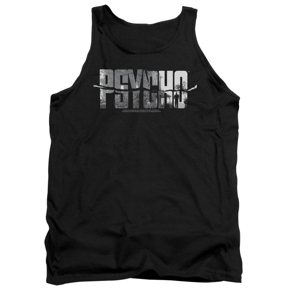 Psycho/Logo Cutout Adult Tank in