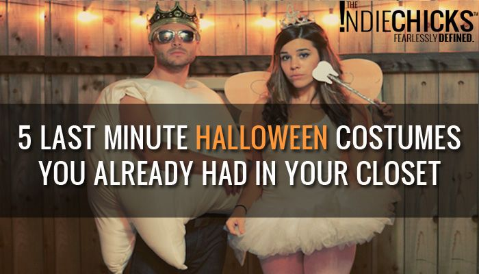 5 Last Minute Halloween Costumes Already In Your Closet If you are - last minute halloween costume ideas for women