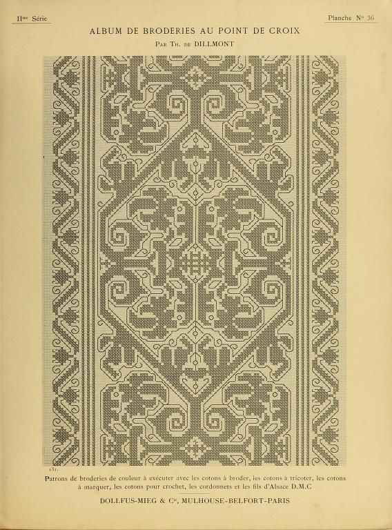 Album de broderies au point de croix Volume II - (91 of 100) | Cross stitch patterns, Cross ...