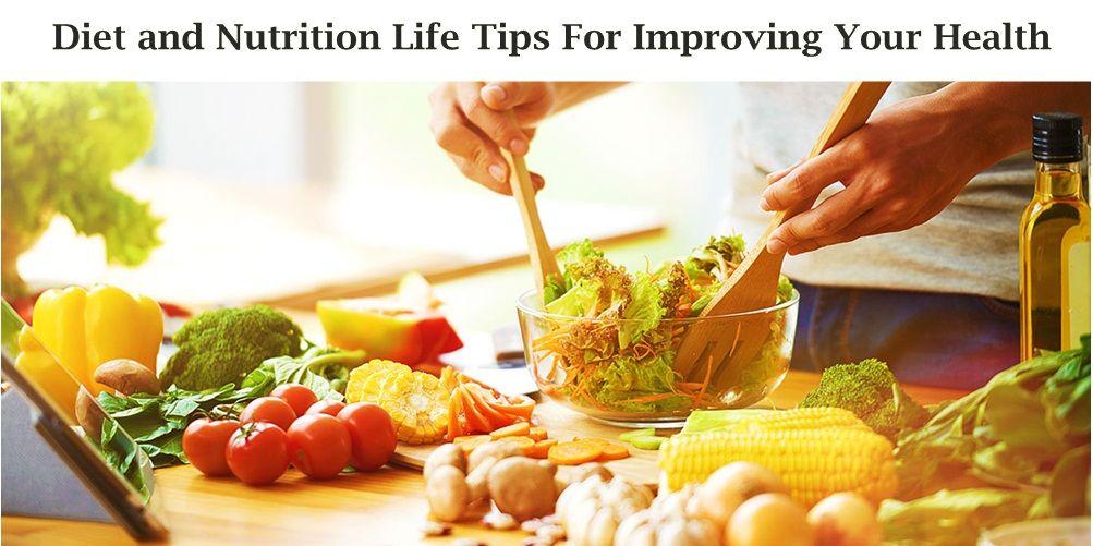 Diet And Nutrition Life Tips For Improving Your Health Menu Sarapan Sehat Makanan Sehat Makan Malam Sehat