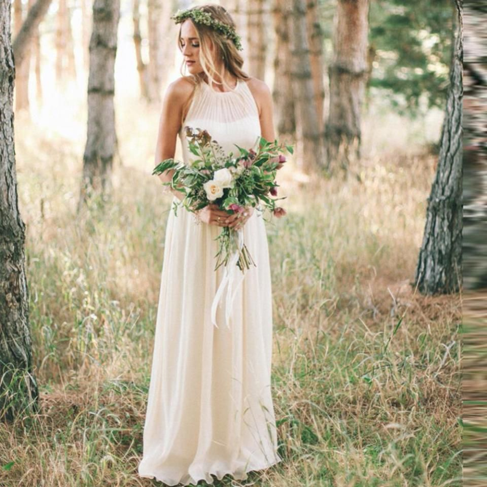 Perfectly charming simple country wedding dresses ideas simple