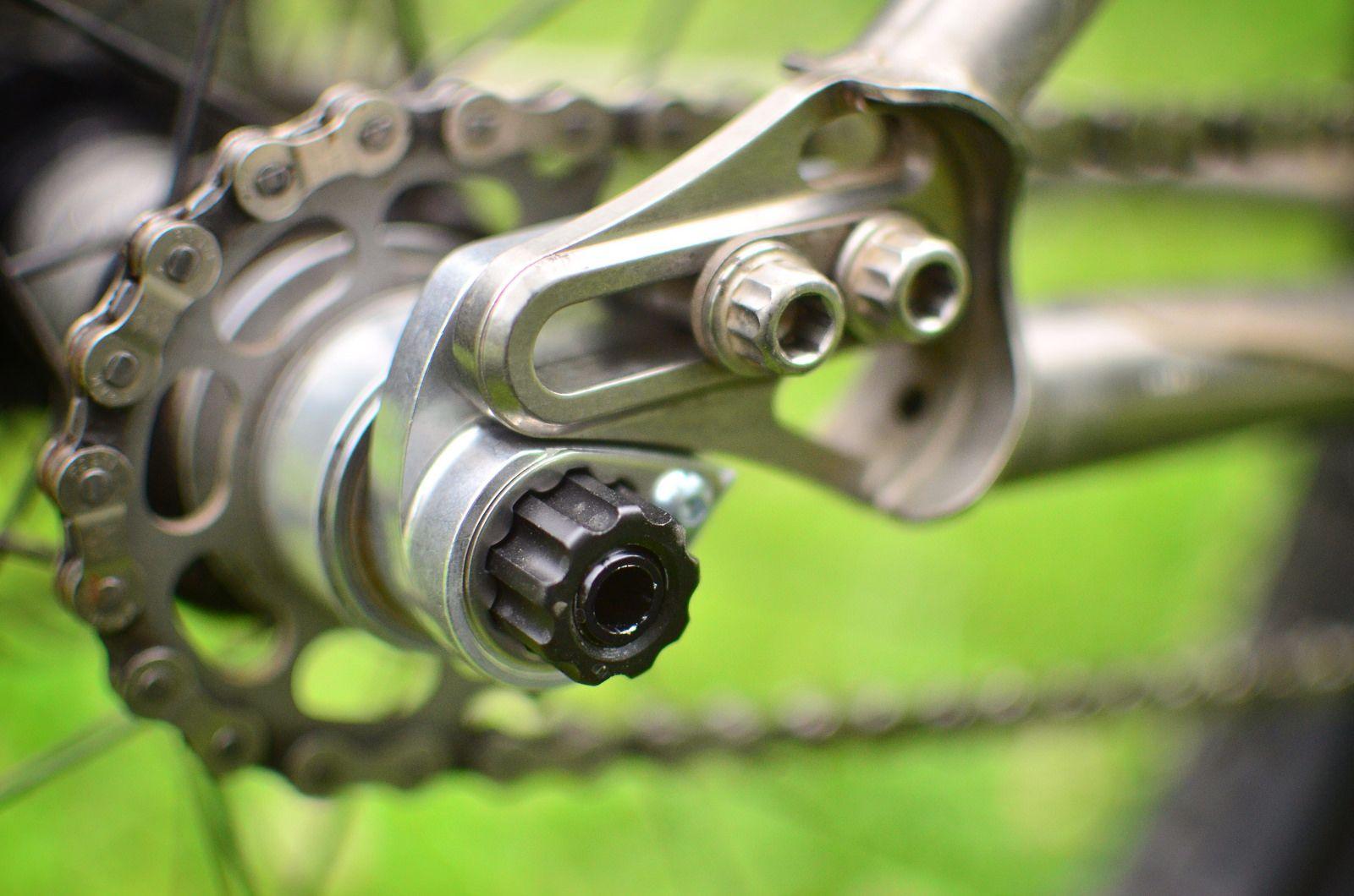 Singlespeed Through Axle Dropout Bike Design Bike Details Bike