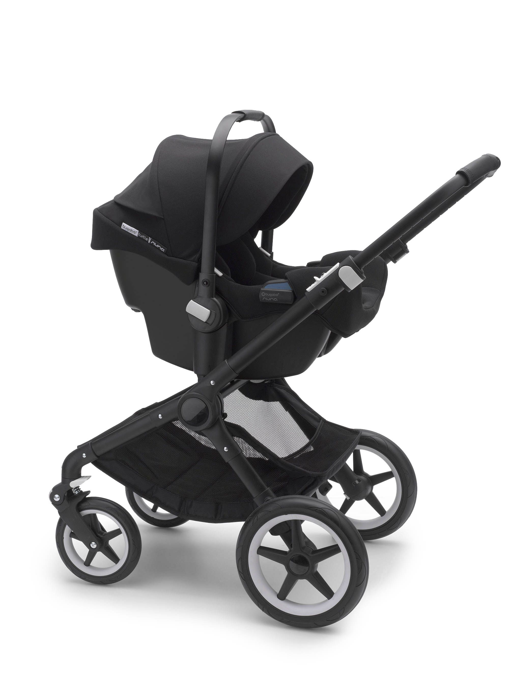 Poussette Buggy Nuna Integrated Adapters On The Bugaboo Turtle By Nuna Car Seat