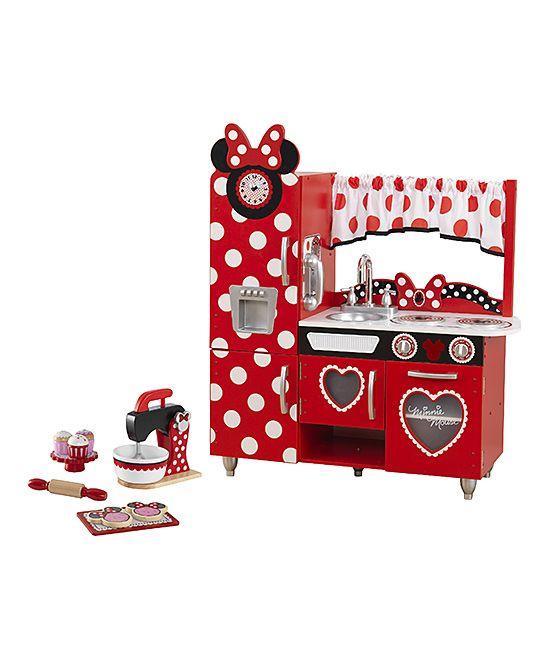 KidKraft Minnie Mouse Kitchen & Baking Set   Minnie mouse, Mice and ...