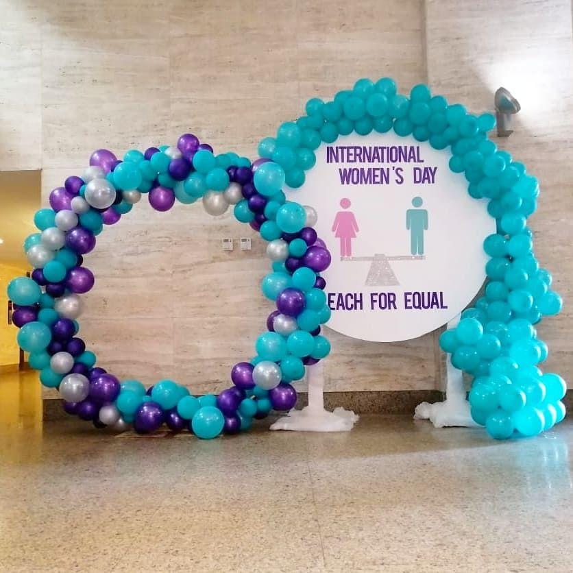 International Women's day 🚺 EMC event  #eachforequal #corporateevents