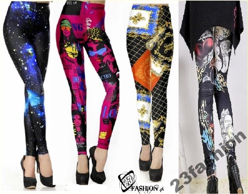 Legginsy Getry Hipster Leginsy Rurki Modne Wzory 4267679888 Oficjalne Archiwum Allegro Fashion Clothes For Women Leggings Are Not Pants