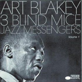 Art Blakey & The Jazz Messengers - 3 Blind Mice on Import LP