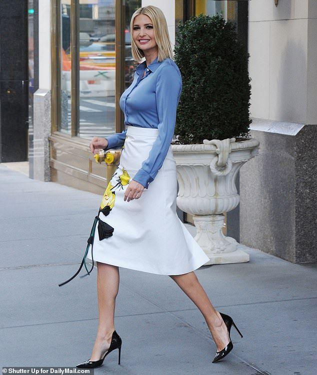 Ivanka Trump Heads Out In NYC After Misha Nonoo's Rome