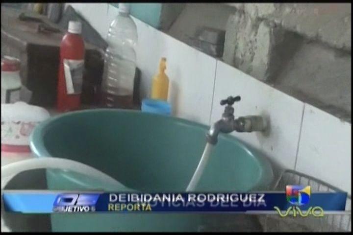 El Servicio De Agua Potable Se Ve Afectado Por Tala De Árboles Y Otros Males En La Provincia Monseñor Nouel