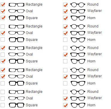 Frames And Face Shapes Eyebuydirect Com Glasses For Round Faces Glasses For Your Face Shape Face Shapes