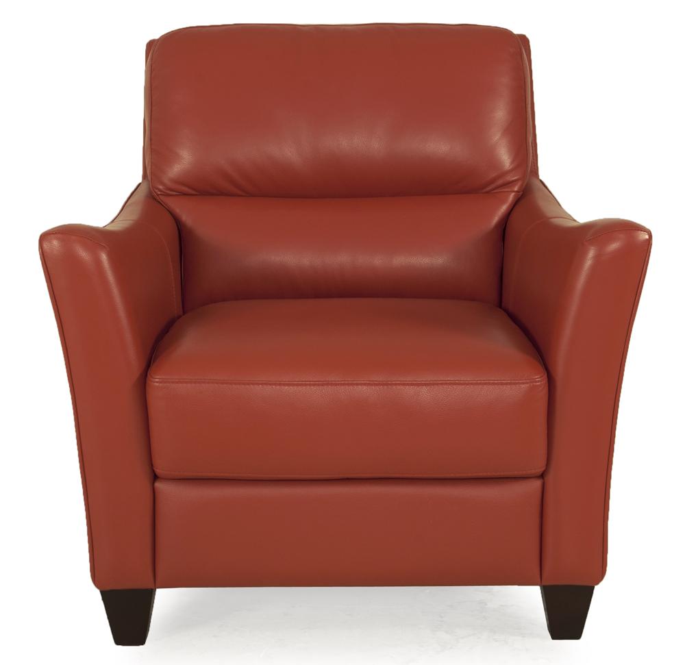 Bermuda Papaya Leather Chair American Home Albuquerque Santa Fe Farmington Nm Chair