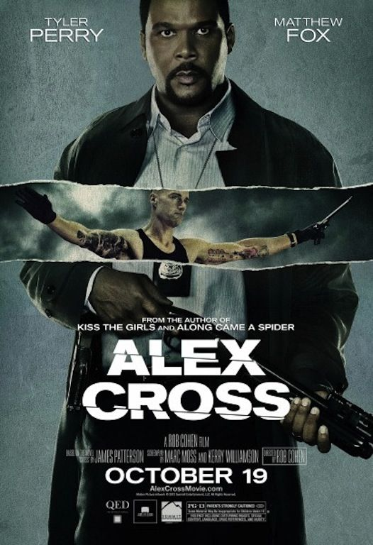 Tyler Perry Movie Posters Tyler Perry Alex Cross Movie Poster