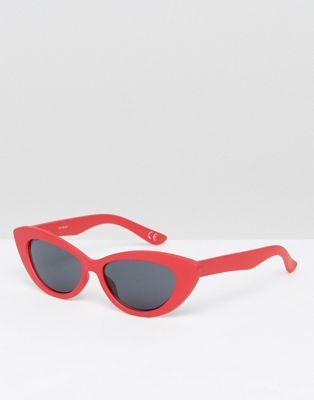 897b7cbbc761c ASOS Small Pointy Cat Eye Sunglasses