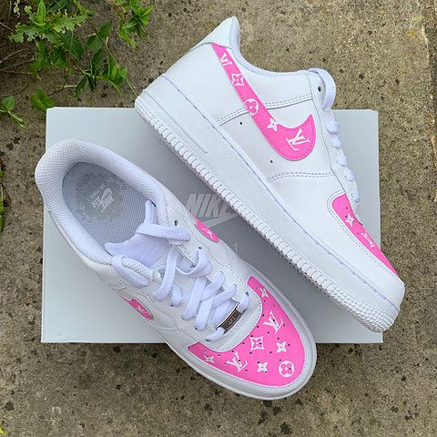 Pink nike shoes, Nike shoes air force
