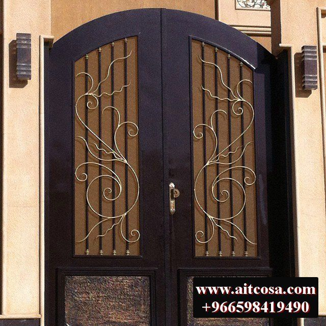 ابواب حديد خارجية 96659841490 Decor Home Decor Doors