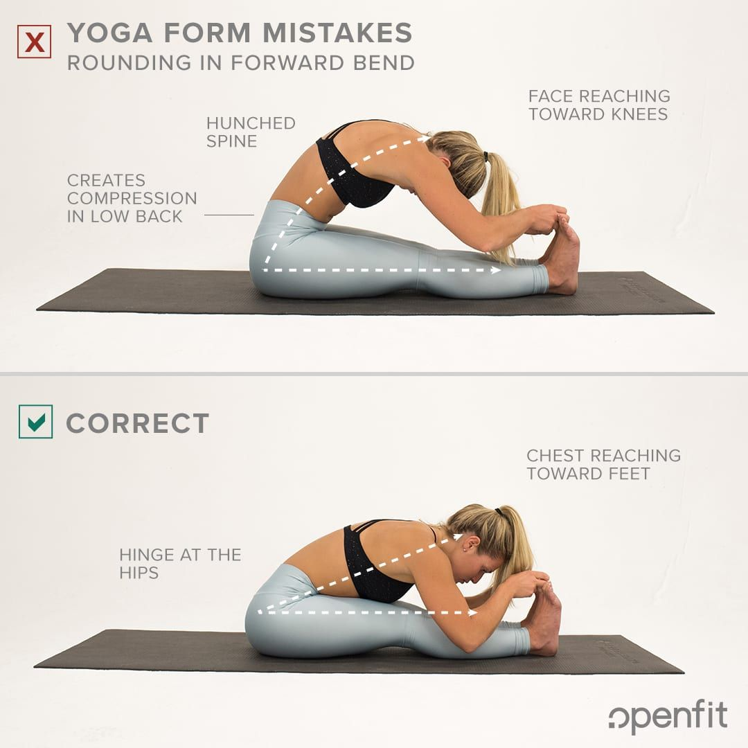 10 Most Common Yoga Form Mistakes Yoga Poses For Beginners Yoga Poses Yoga Guide