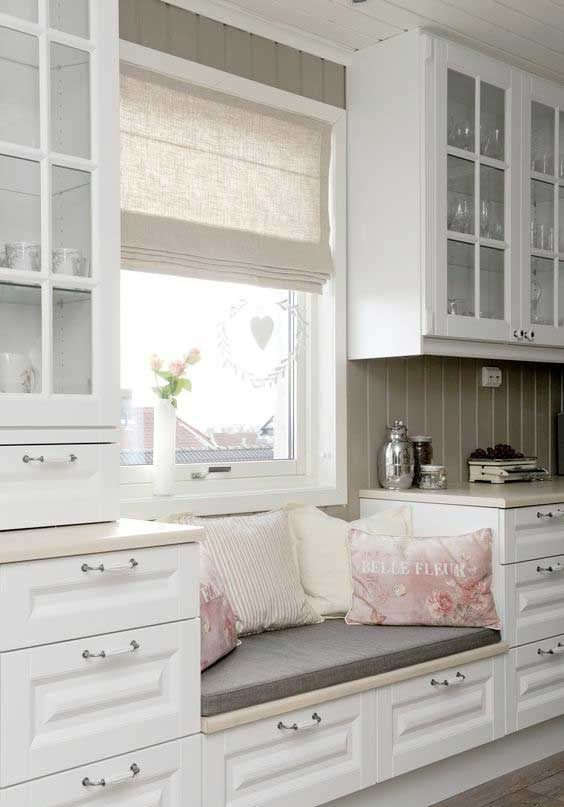 Built In Benches In Almost Anywhere Of A Home: Bench Seating Kitchen, Window Seat Kitchen, Home