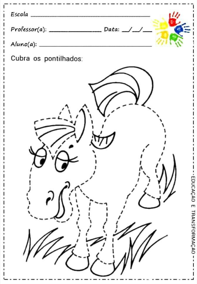 Pin von Jamile Meyre de Oliveira. auf Pontilhado/Tracejados ...