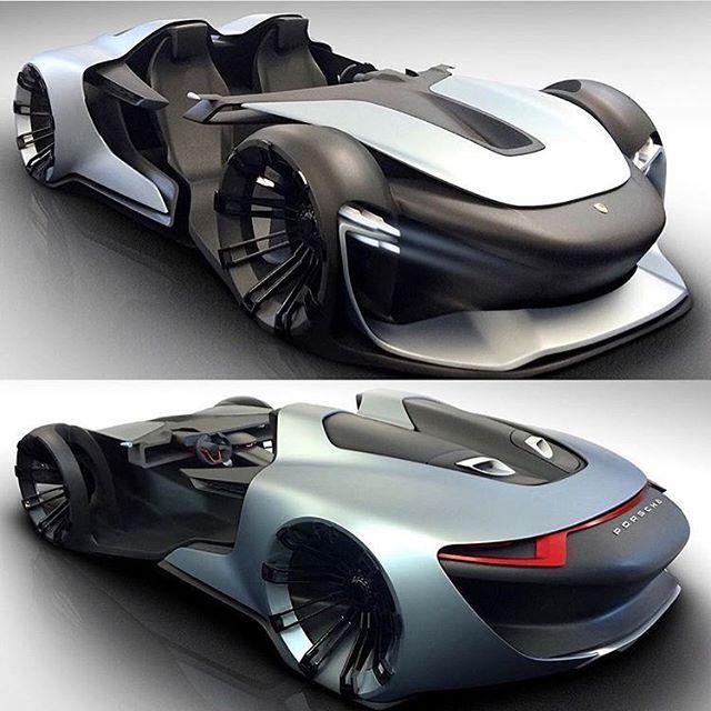 Can You Name This Porsche Concept Follow Supercar Supercar Photo By Supercar Porsch With Images Futuristic Cars Super Cars Concept Car Design