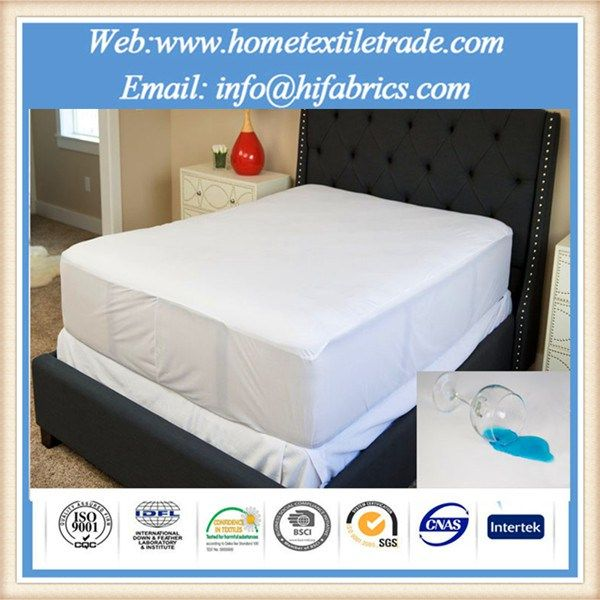 Soft Peach Skin Microfiber Waterproof Mattress Protector For Hotel And Hospital In Malaysia With Images Crib Mattress Protector Waterproof Mattress Cover Baby Crib Mattress