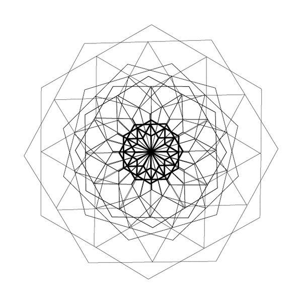 Geometría Sagrada / Sacred Geometry / Géométrie Sacrée by