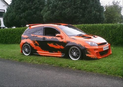 Pin By Jacob On Cool Car Body Decal With Images Ford Focus
