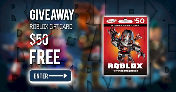 Photo of Roblox Gift Card $ 50 – Join Free Giveaway! – Roblox gift card $ …