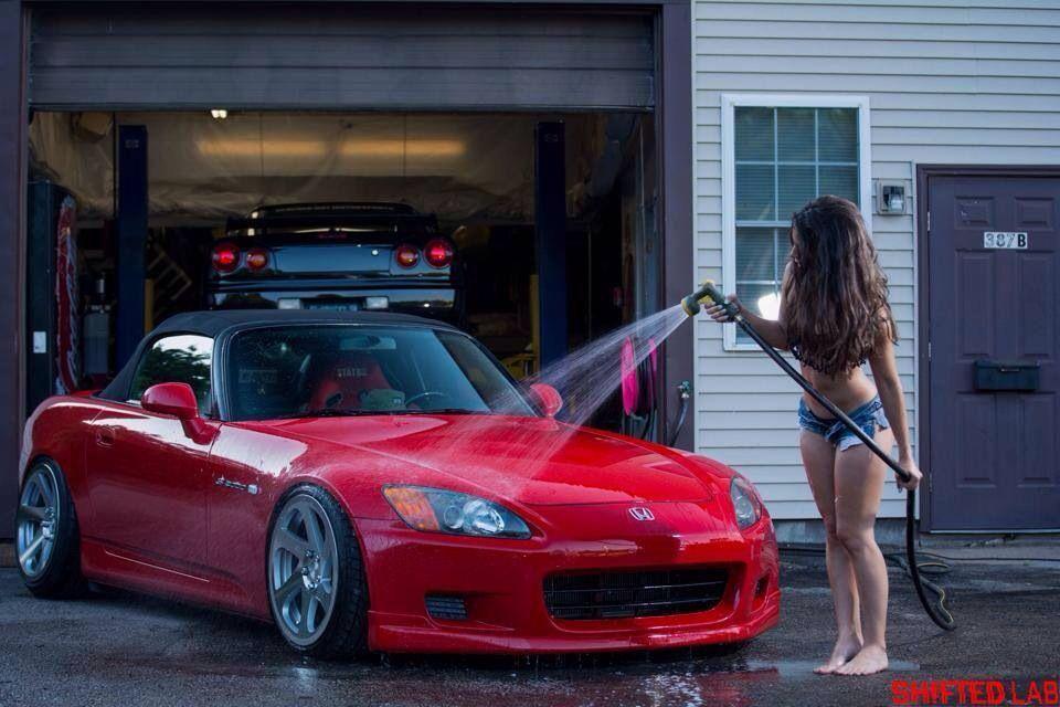 Yes Honey, Wash It Good  Car Wash Girls-1315