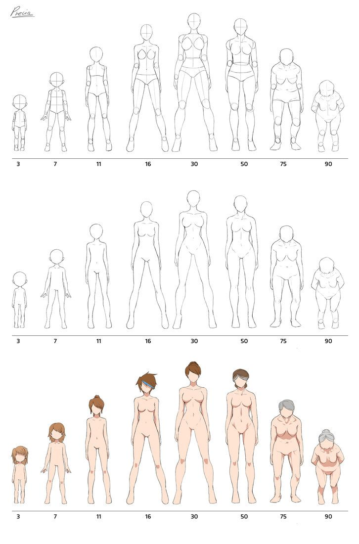 Fullbody Aging By Precia T On Deviantart Drawing Tutorials