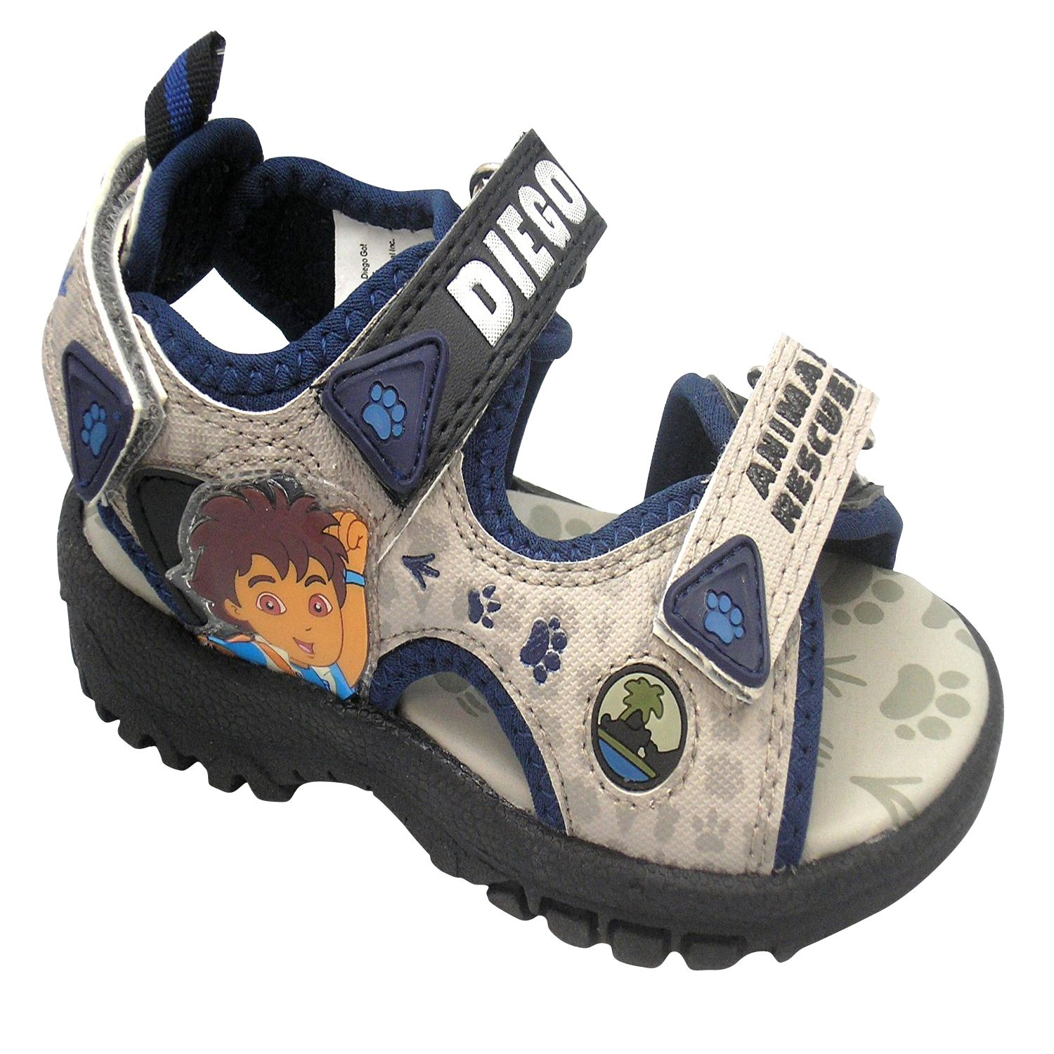 Go Diego Go Black Infant Sandals $20 99 Step into the adventures of