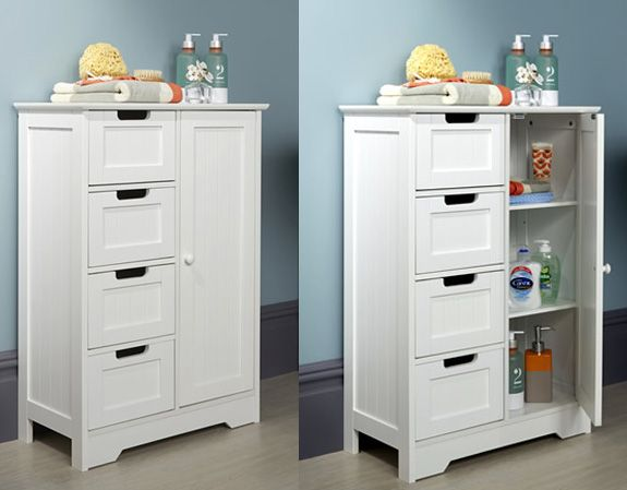 Shaker Style Cupboard Unit With 4