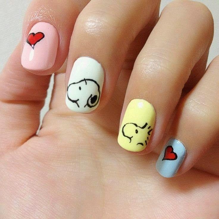 Easy Cartoon-Inspired Nail Art Ideas - Styles 2d | Re-Pin Nail ...
