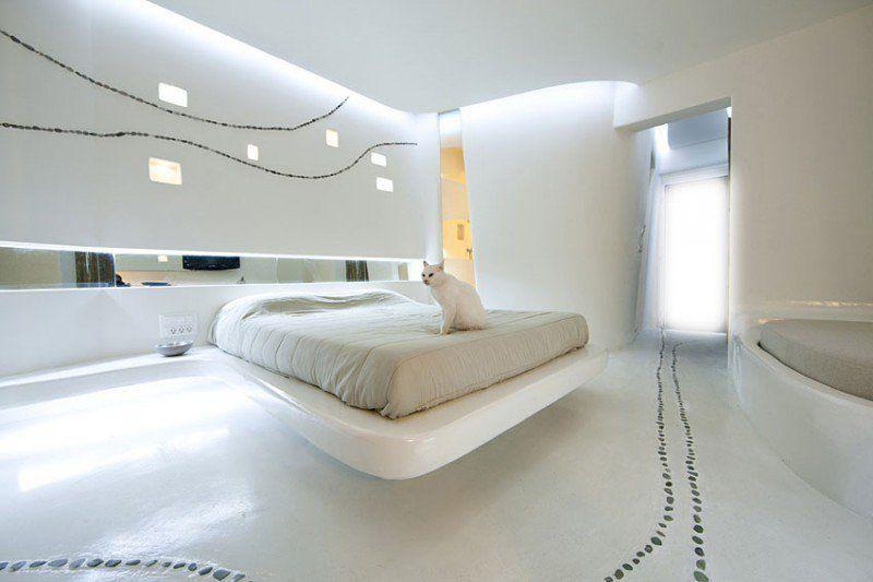 Chambre adulte blanche: 80 idées pour votre aménagement | Chambre ...