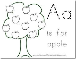 This blog has a ton of printables for letters, numbers and
