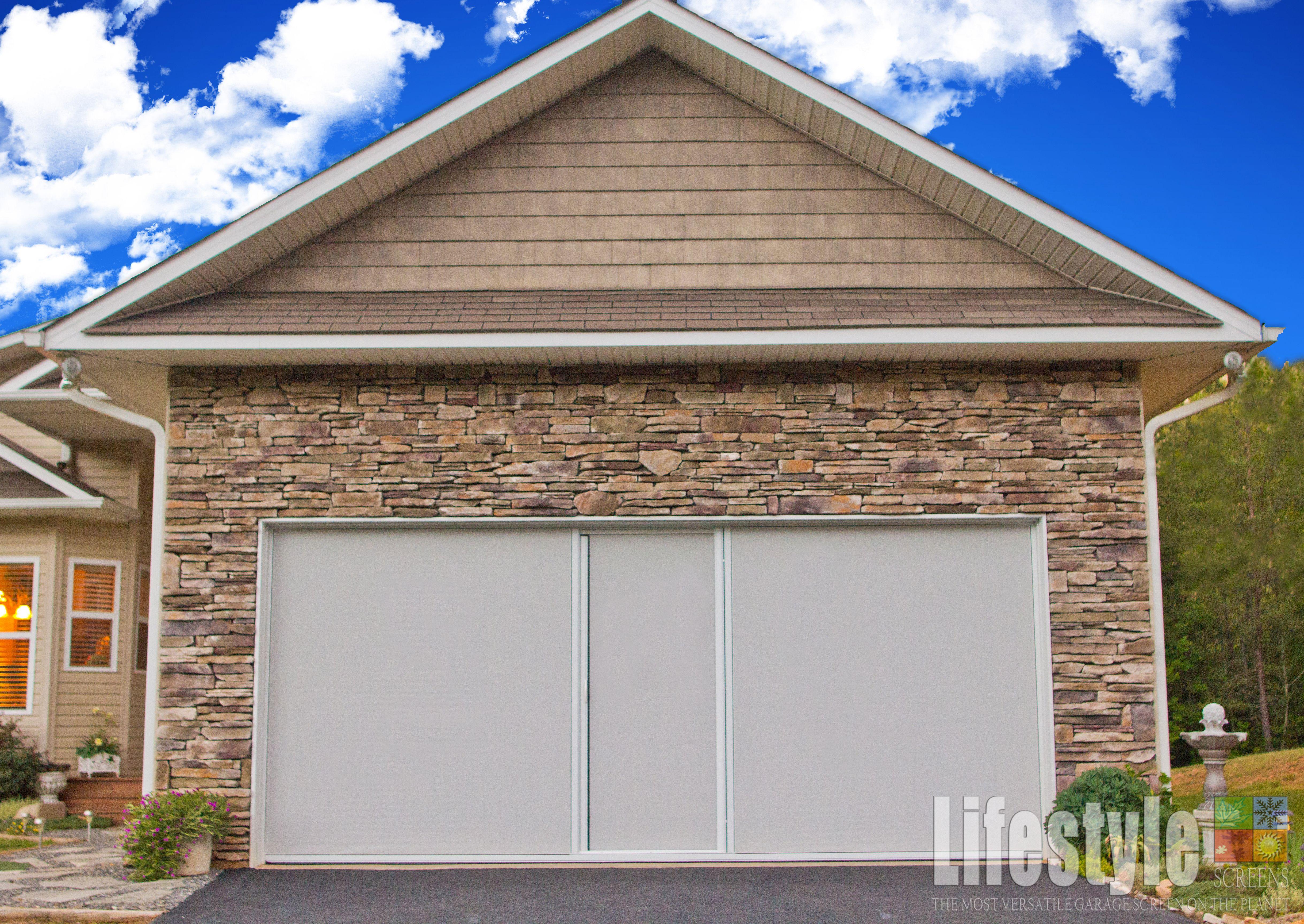 pure screen garage car curtain and door x exterior one doors garden magnetic black