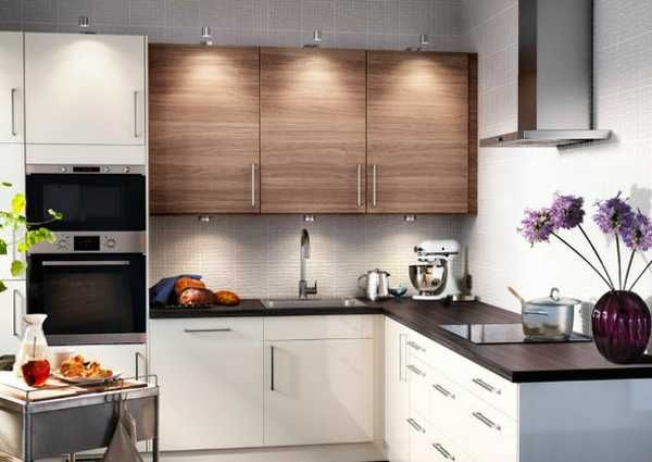 Small Kitchen Design In Neutral Colors (IKEA Cabinets)