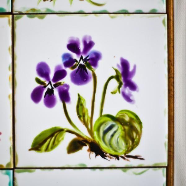 Simple Ceramic Tile Painting Ideas Adding Artworks to ...
