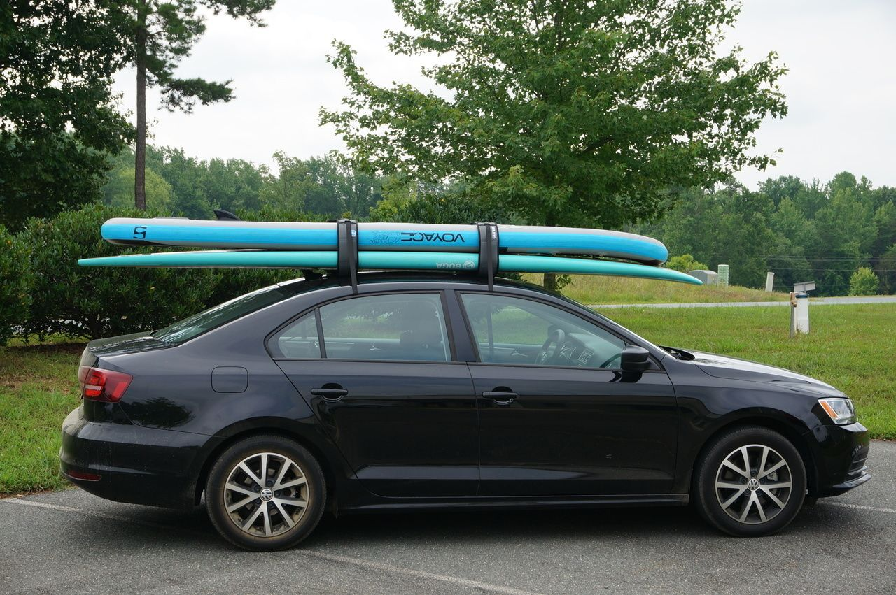 One Of Our Most Popular Sup Car Rack Its Universality Makes It A Great Fit For Almost Any Vehicle Suptransportation Storeyourb Car Racks Car Car Roof Racks