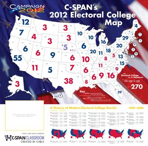 FREE Museum Day Live Event Electoral College Map Social Studies - Us political party map