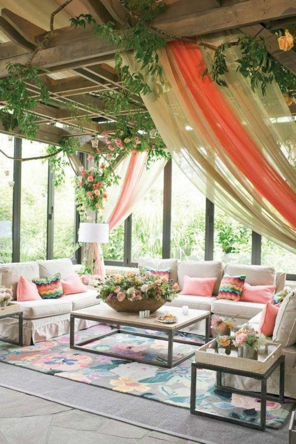 Gartenpavillon wintergarten sitzecke gartengestaltung for Deko wintergarten