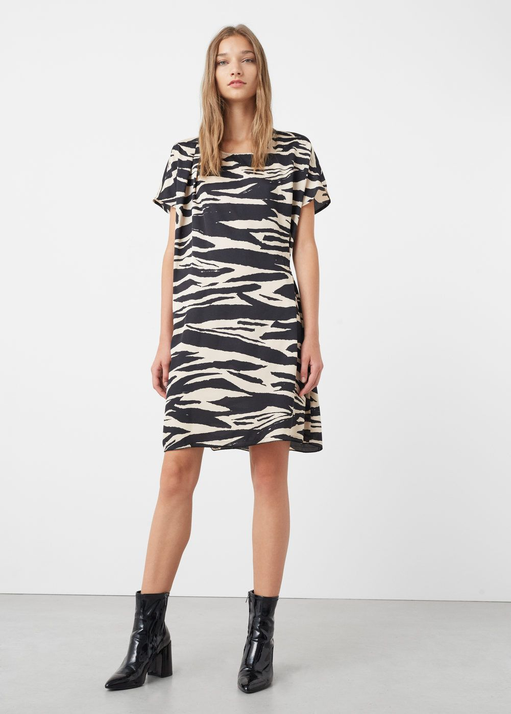 Animal print dress - Women | dress | Pinterest | Animal print ...